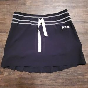 Fila Skort Athletic Black Stretch